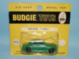 Budgie Miniatures No.19 Rover 105 - bpw, yellow blister-pack