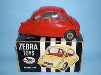 Benbros Zebra Toys Heinkel Bubble Car