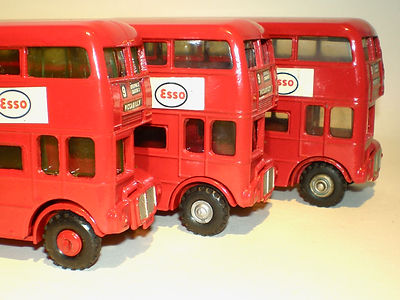 Budgie No.236 Routemaster Bus wheel variations