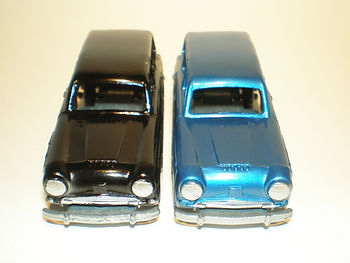 Budgie Miniatures No.61 Q Car - colours