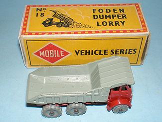 Budgie Miniatures No.18 Foden Dumper