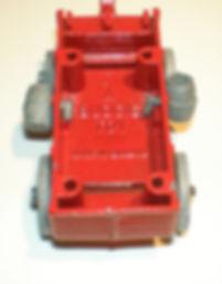 Budgie Miniatures Wagon Train Covered Wagon - internal id.