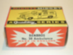 Benbros No.38 Ambulance Mighty Midget box