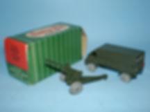 Kemlows Sentry Box 3 Ton Bedford Lorry towing 25 pdr Gun