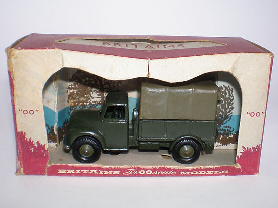 Britains Lilliput Vehicle Series LV/613 Army 1.5-Ton Covered Truck