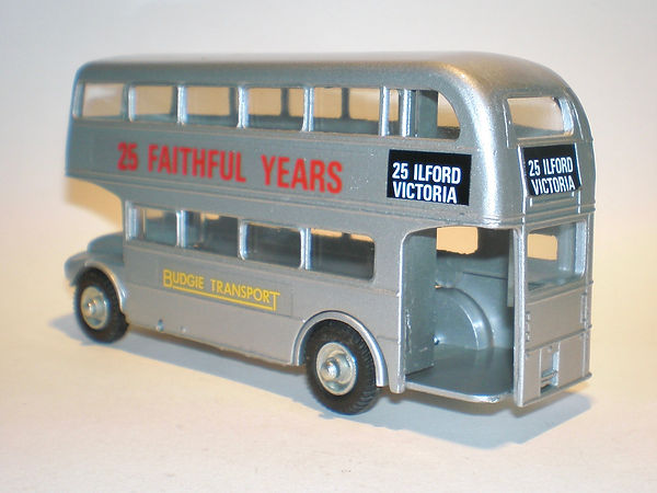 Budgie No.705 Routemaster Bus '25 Faithful Years'