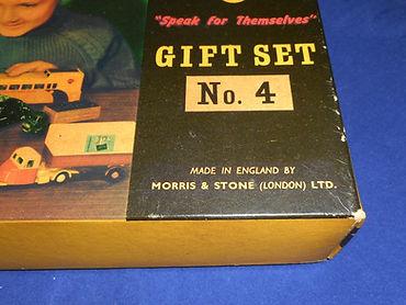 Budgie Gift Set No.4 (Series 1) maker's name