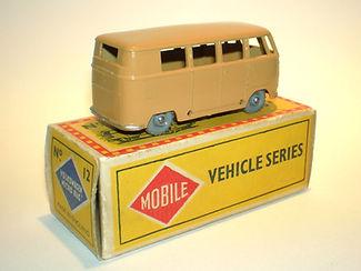 Budgie Miniatures No.12 VW Micro Bus - gpw, Mobile box