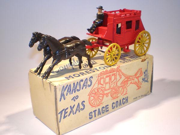 Morestone Kansas to Texas Stage Coach