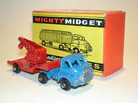 Benbros Mighty Midget No.44 Articulated Low Loader