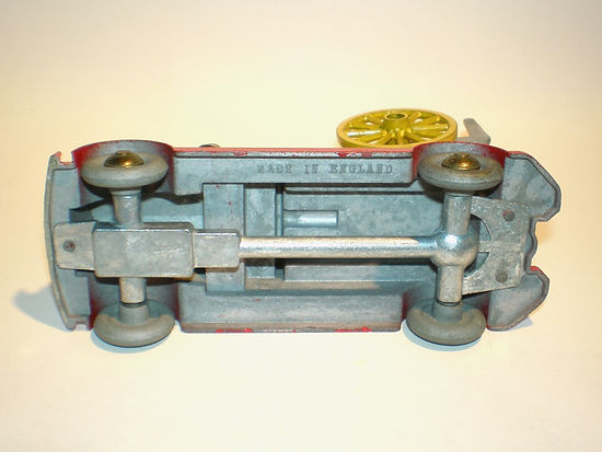 Morestone Fire Engine with Fire Escape (base detail)