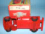 Benbros Qualitoys 226 Petrol Tanker - underside & box id.