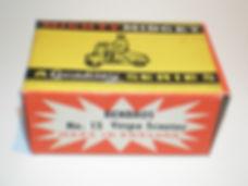 Benbros No.15 Vespa Scooter Mighty Midget box