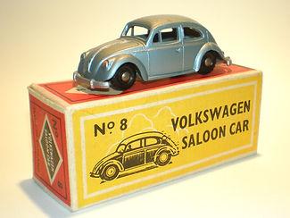 Budgie Miniatures No.8 Volkswagen - bpw, Modern (type 1) box