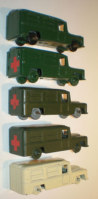 Benbros No.38 Ambulance - colours, wheels & decals
