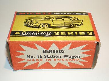Benbros No.16b Station Wagon box
