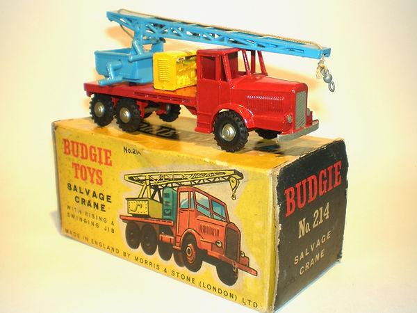 Budgie No.214 Salvage Crane