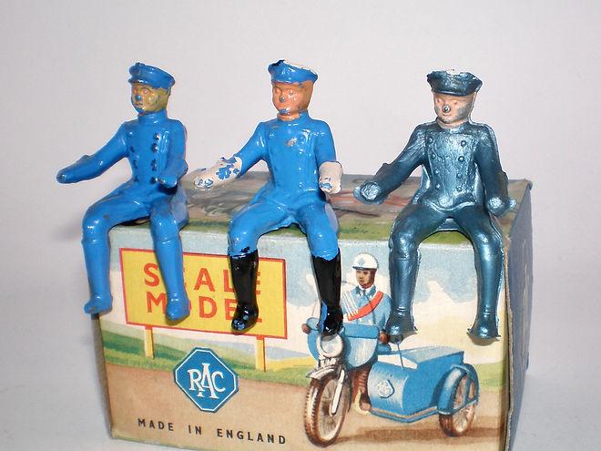 Benbros Qualitoys RAC Motorcycle Patrol riders