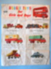 Budgie Toys Leaflet 1960 - First Issue (reverse)