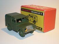 Benbros Mighty Midget No.35 Army Land Rover
