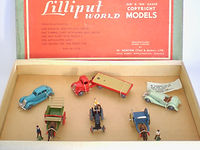 Britains Lilliput Vehicle Series LV/SA OO/HO Vehicle Set