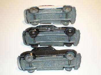 Benbros Mighty Midget No.37 Police Car - wheel variations
