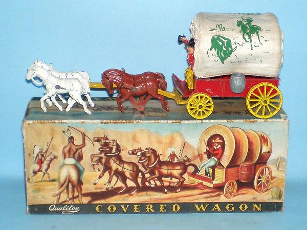Benbros Qualitoys Covered Wagon