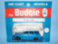 Budgie Miniatures No.61 Q Car - blue blister-pack