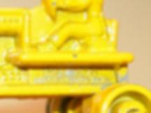 Benbros No.11 Tractor & Hay Rake with identification