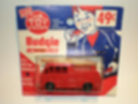 Budgie Miniatures No.59 Fire Engine - Toy House blister-pack