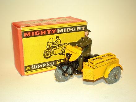 Benbros Mighty Midget No.3 AA Motorcycle