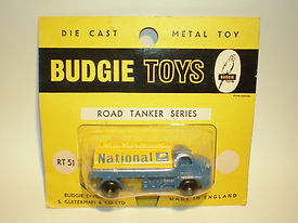 Budgie Miniatures Nos.50-55 Road Tankers - yellow blister-pack