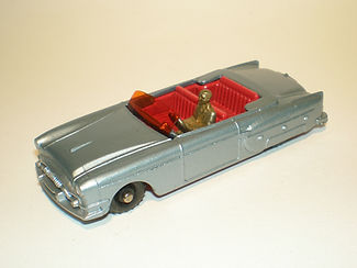 Budgie Miniatures No.14 Packard Convertible - variation 5