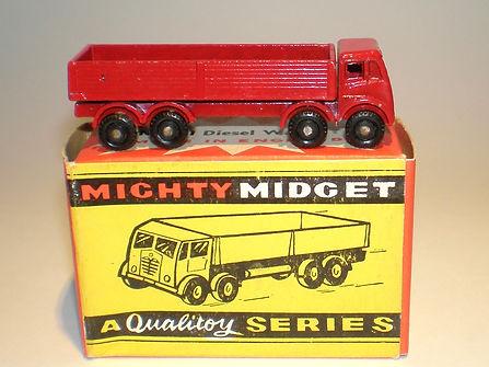 Benbros Mighty Midget No.21 Foden Diesel Wagon