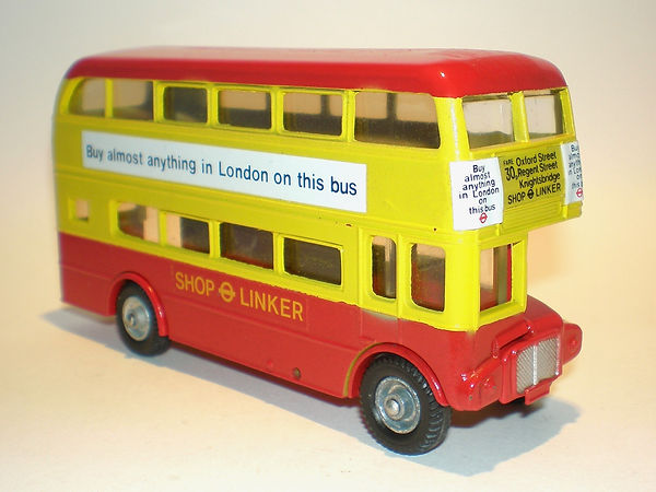 Budgie No.704 Routemaster Bus 'Shop Linker'