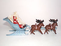 Benbros Qualitoys Father Christmas Sleigh