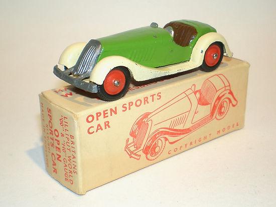 Britains Lilliput World Vehicle Series LV/601 Open Sports Car