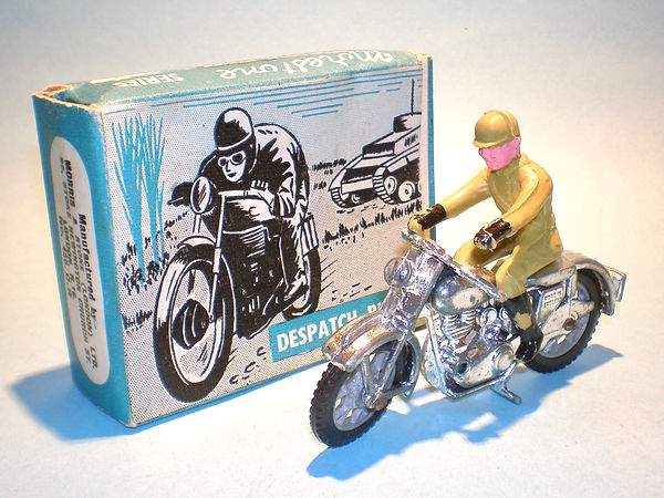 Budgie No.456/DR Despatch Rider (Series 1)