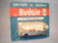 Budgie Miniatures No.14 Packard Convertible - metallic blue, blue blister-pack