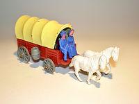 Budgie Miniatures Wagon Train Toys