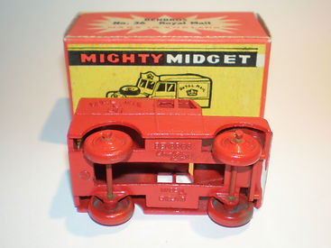 Benbros Mighty Midget No.36 Royal Mail Land Rover