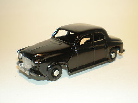 Budgie Miniatures No.60 Squad Car - black