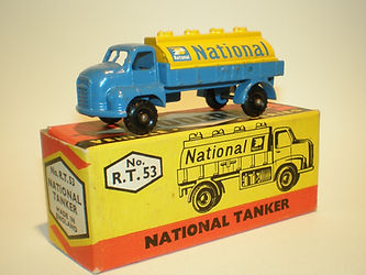 Budgie Miniatures No.53 National Tanker