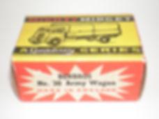 Benbros Mighty Midget No.30 Army Wagon box