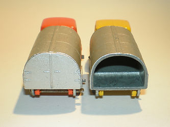 Budgie Miniatures No.24 Refuse Truck - with & without rear panel
