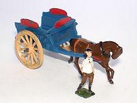 Britains Lilliput World Vehicle Series LV/605 Milk Float & Horse