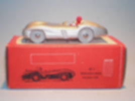 Morestone Esso Petrol Pump Series No.7 Mercedes-Benz Racing Car