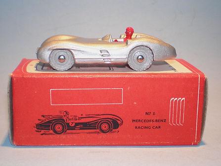 Morestone Esso Petrol Pump Series No.7 Mercedes-Benz Racing Car
