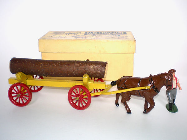 Benbros Qualitoys Horse-Drawn Log Carrier