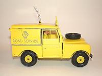 Benbros Qualitoys AA Road Service Land Rover